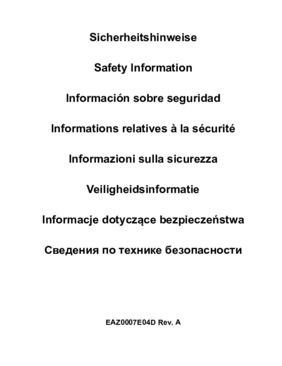 Safety multilingual